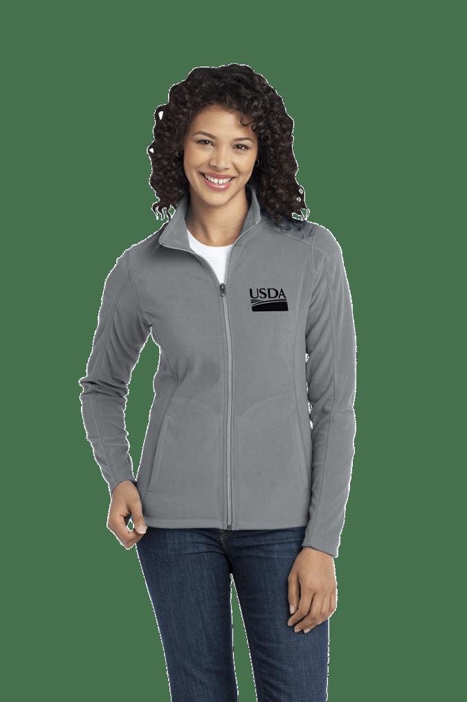 Ladies Microfleece Full Zip Jacket