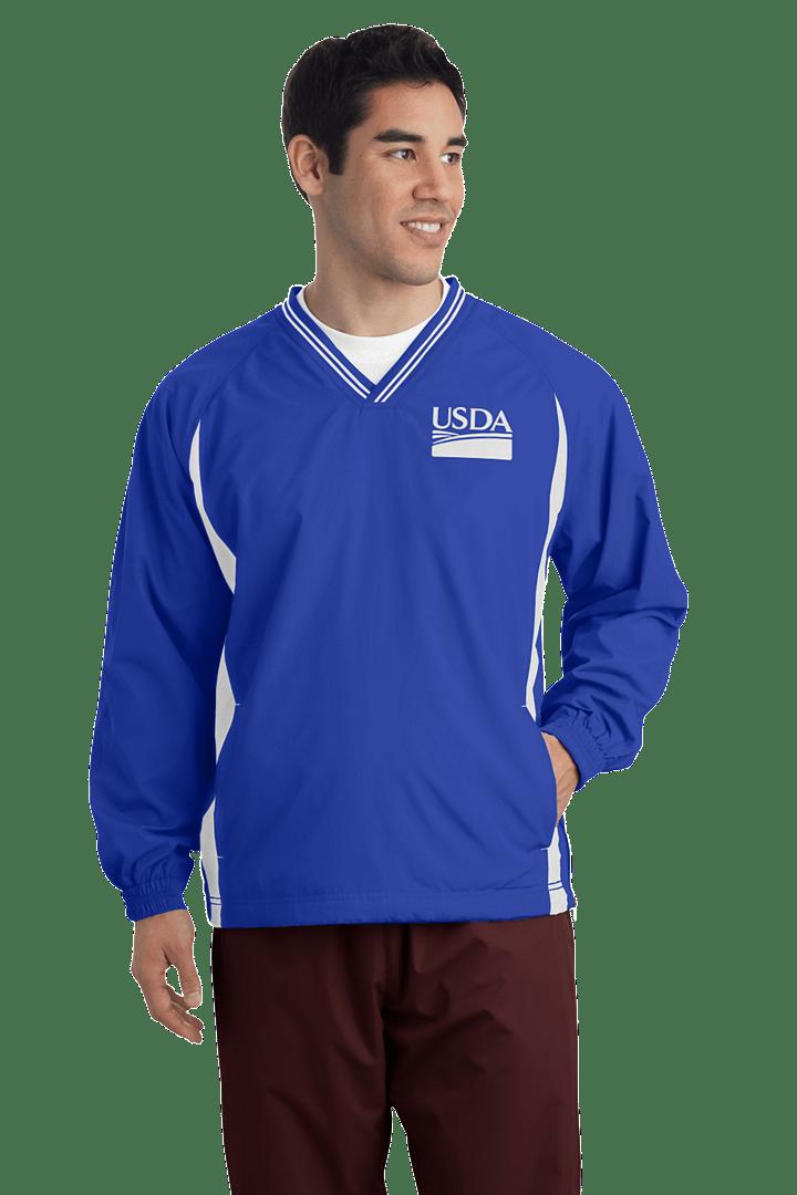 Tall V-Neck Raglan Wind Shirt