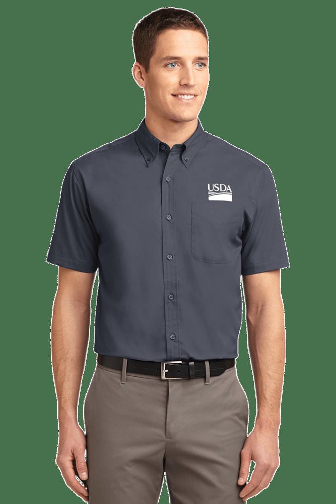 Short Sleeve Easy Care Shirt S508