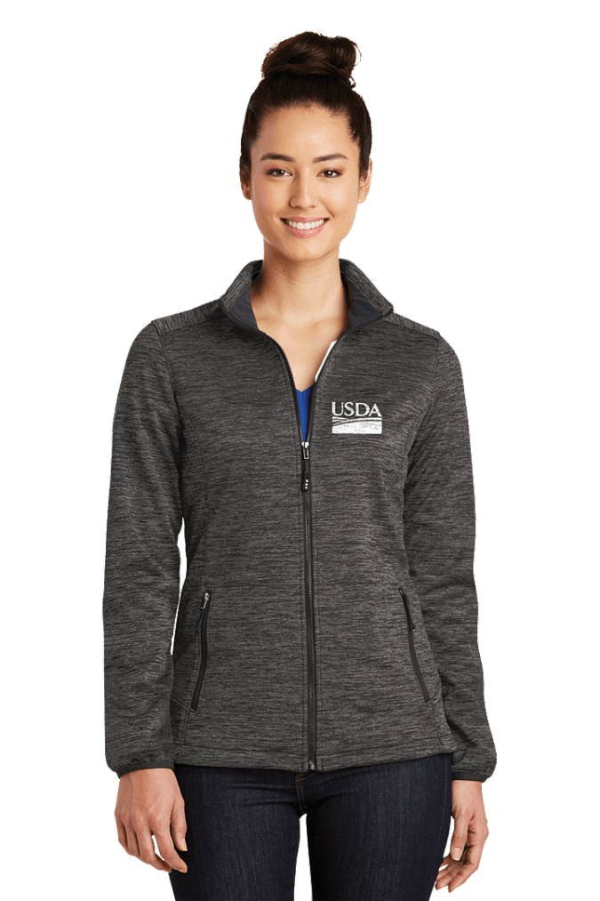 Ladies  Electric Heather Soft Shell Jacket LST30