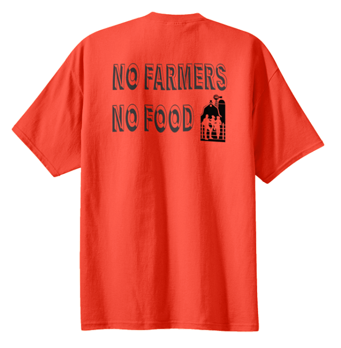 """No Farmers No Food"" T-Shirt"
