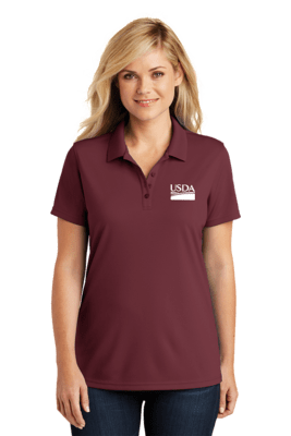 Ladies Dry Zone Micro Mesh Polo