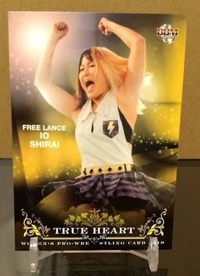 Io Shirai 2010 BBM True Heart Base Card