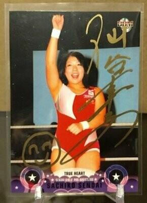 Sendai Sachiko 2009 BBM True Heart Autograph /25
