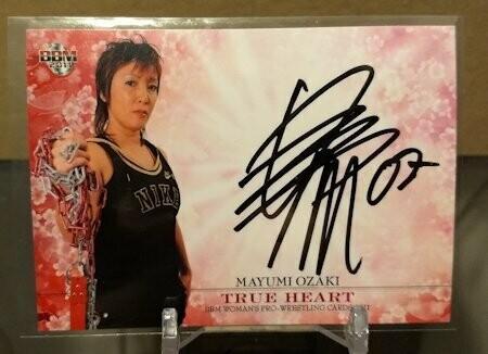 Mayumi Ozaki 2011 BBM True Heart Autograph /99