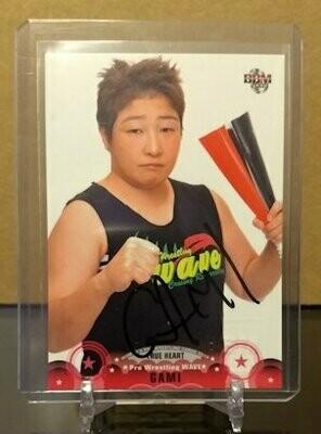 GAMI 2009 BBM Joshi True Heart Autograph /50