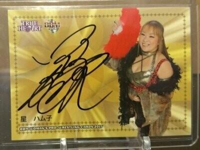 Hamuko Hoshi 2017 BBM Joshi True Heart Autograph /95