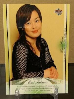 Emi Sakura 2007 BBM Joshi True Heart Base Card