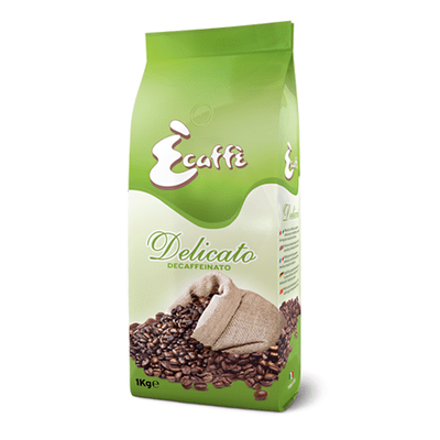 DECAF DELICATO COFFEE BEANS