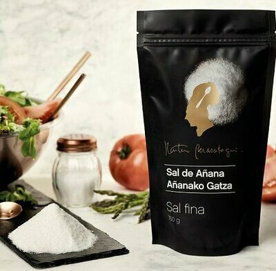 Sal Fina de Añana, bolsa 750 g. (Martín Berasategui) - Gourmet by Beites