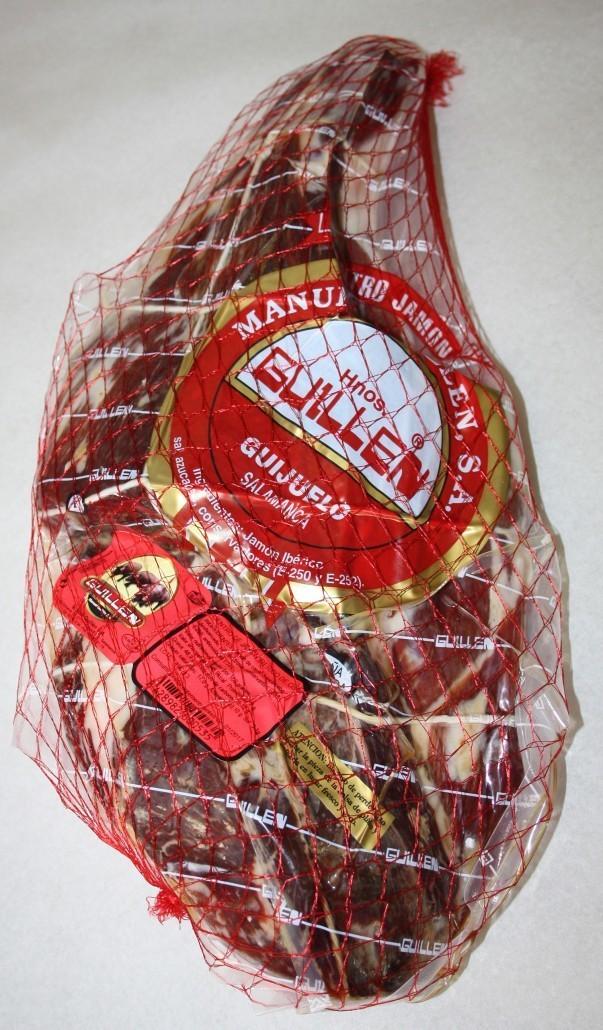 Jamón Ibérico Cebo Deshuesado - Peso aproximado: 5 kg a 5,5 kg sin contar el embalaje GUILLEN-6