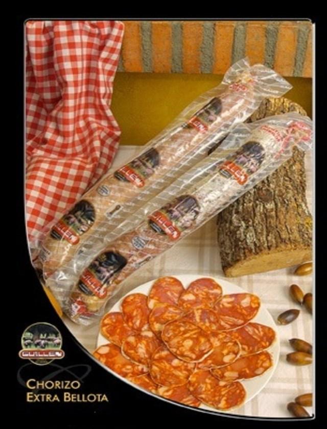 Chorizo Ibérico Cular Bellota - Peso: 1 kg a 1,3 kg sin contar el embalaje GUILLEN-31