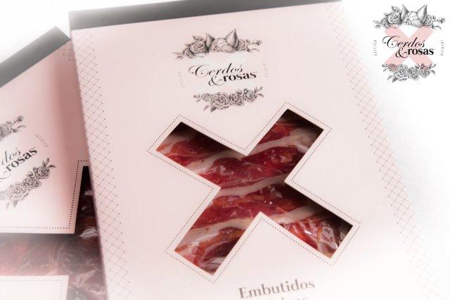 Cerdos y Rosas: Loncheado de Jamón Ibérico de Bellota