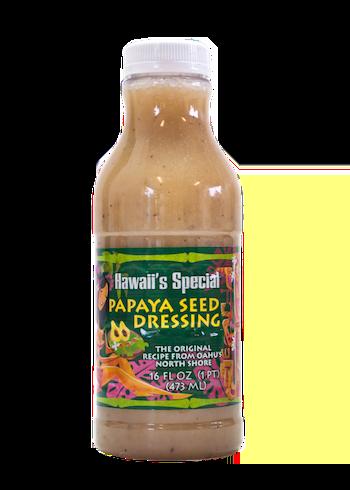 Original Papaya Seed Dressing, 16 oz