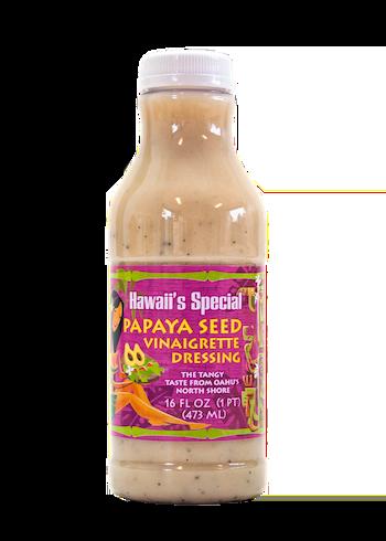 Papaya Seed Vinaigrette Dressing, 16 oz