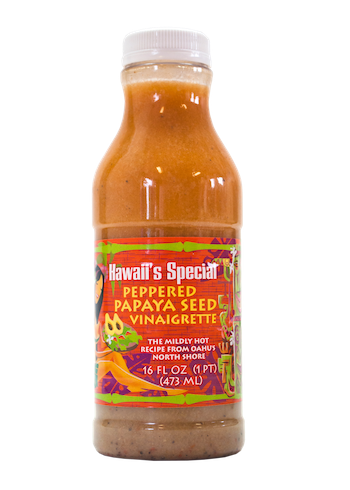 Peppered Papaya Seed Vinaigrette Dressing, 16 oz