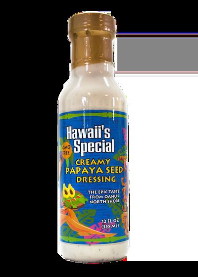 Creamy Papaya Seed Dressing - GMO Free, 12 oz