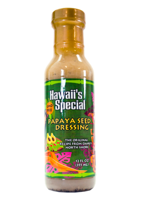 Original Papaya Seed Dressing - GMO Free, 12 oz