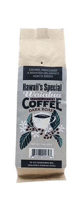 Waialua Coffee - Dark Roast, 2 oz - Ground
