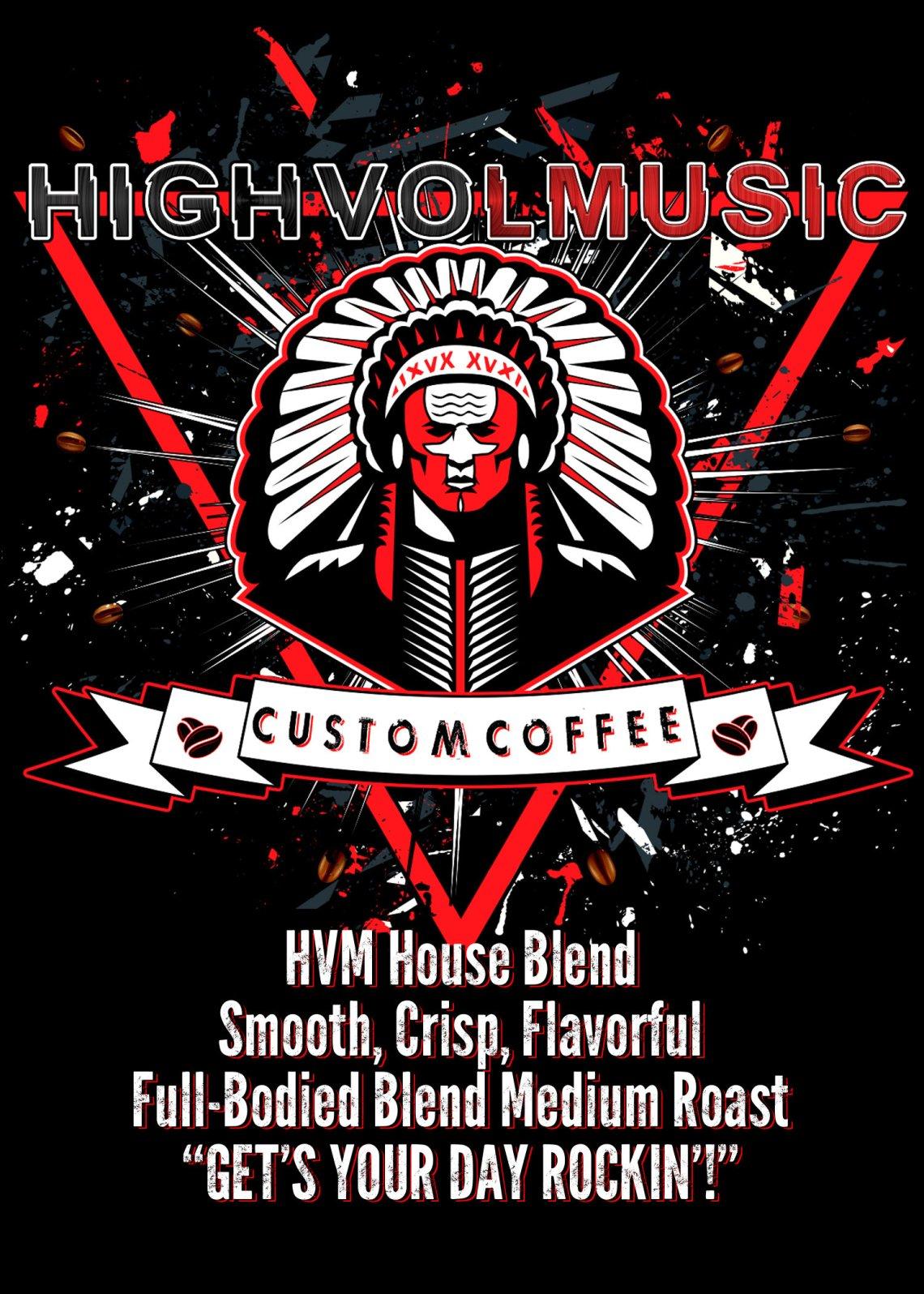 HVM Signature 'House Blend' Coffee HVMHBC