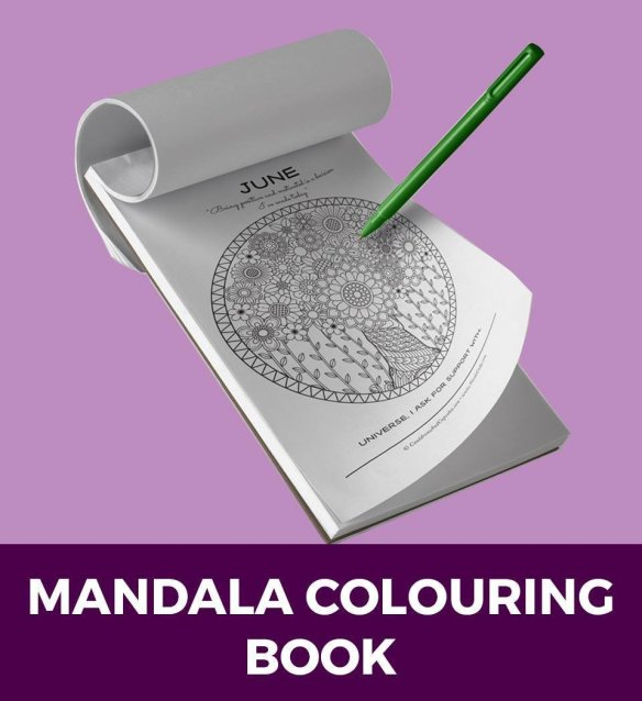 Manifesting Mandalas Colouring Book and Online Course 78790