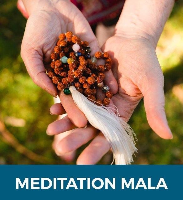 Meditation Mala & Online Meditation Course BBM2019