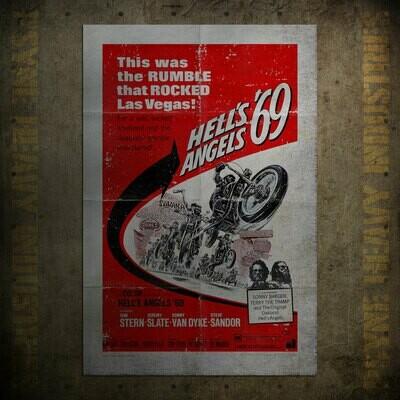 Hell's Angels '69 Vintage Movie Poster