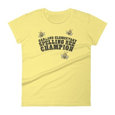 Garland Elementary Spelling Bee Champion Vintage T-Shirt - Women's