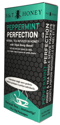 Peppermint Perfection Tea Shots