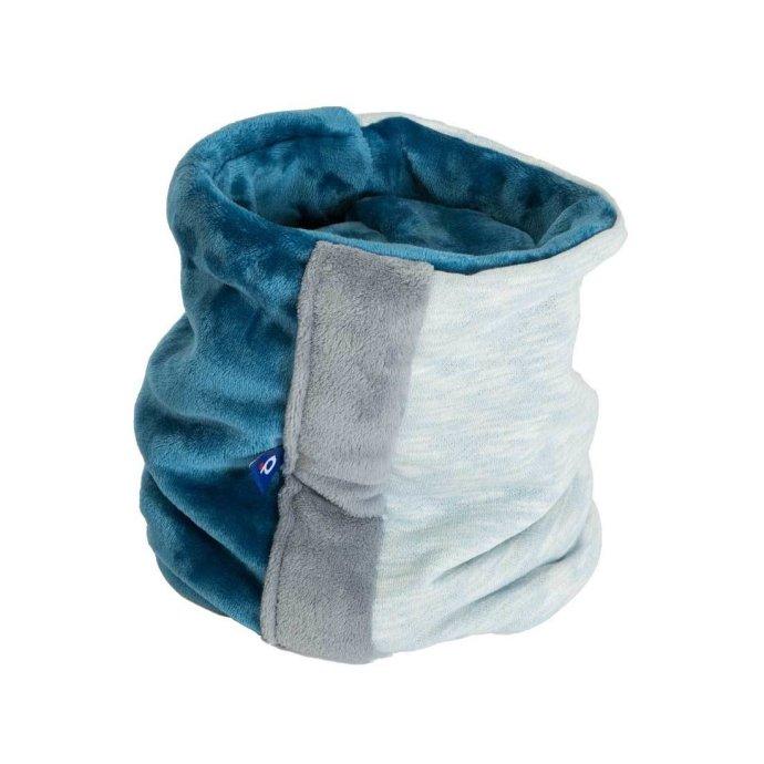 Cache cou adulte sweat et polaire ultra doux turquoise SH-18021-L
