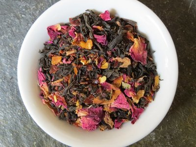 Sale - Spindle's Bite (Organic Chile Rose Black Tea)