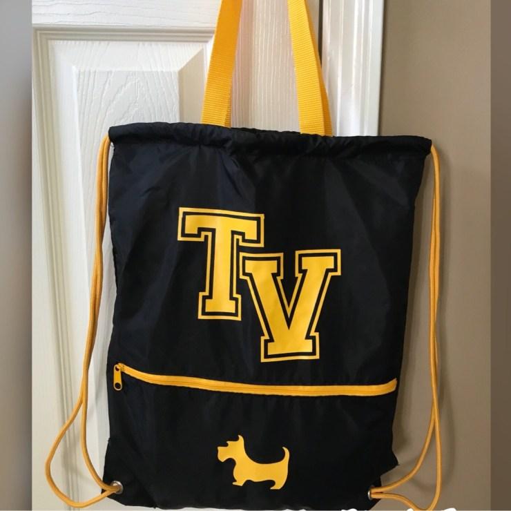 Reversible Cinch Bag REV1