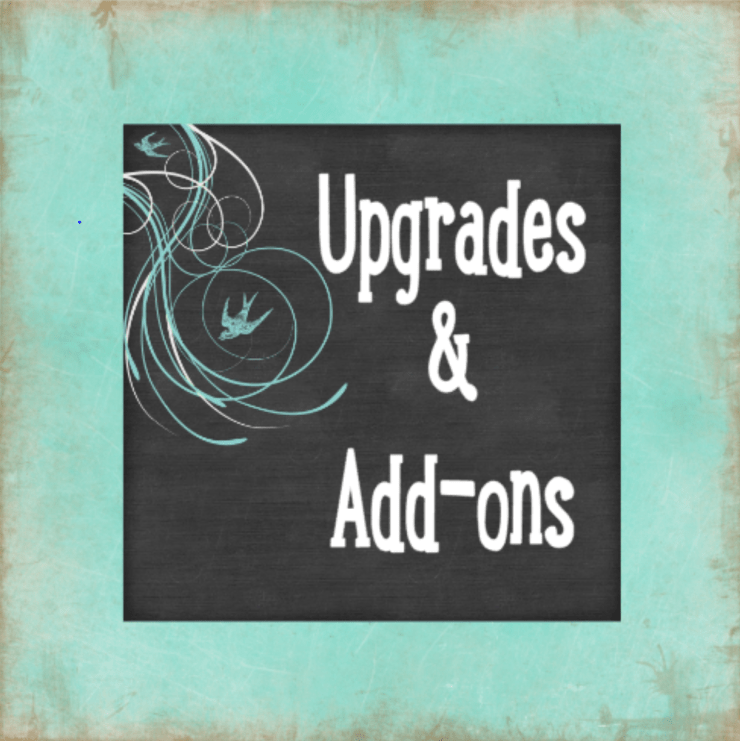 Upgrade & Add-on Options