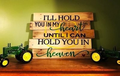 Hold you in my heart...