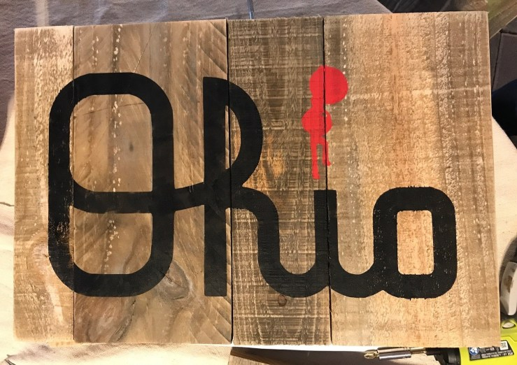 Pallet Sign - We will paint for you!