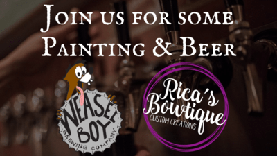 Wood cutout workshop at Weasel Boy Brewing - 10/22