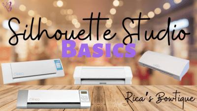 Silhouette Studio Basics - 4/19