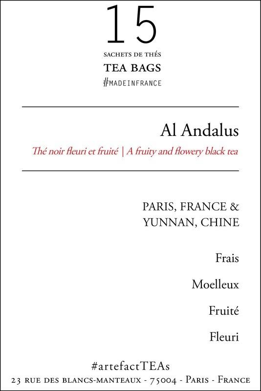 x15 Al Andalus Sachets de Thés / Tea Bags