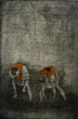 Damien Guggenheim | Bordures (d'après Le Greco)