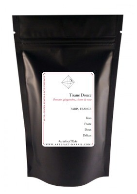 Tisane douce [Pomme, Gingembre, Citron, Rose]