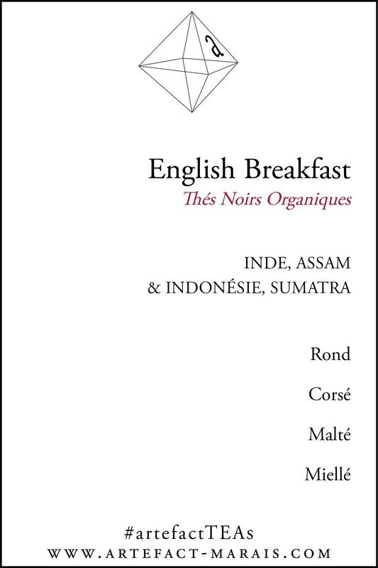 English Breakfast : Thés noirs organiques