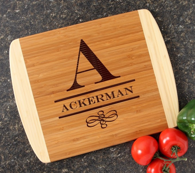 Personalized Cutting Board Custom Engraved 14x11 DESIGN 12 CBC-012