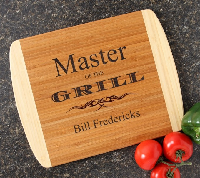 Personalized Cutting Board Custom Engraved 14x11 DESIGN 23 CBC-023