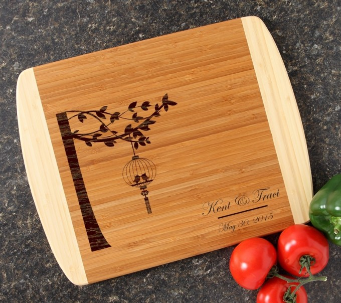 Personalized Cutting Board Custom Engraved 14x11 DESIGN 32 CBC-032