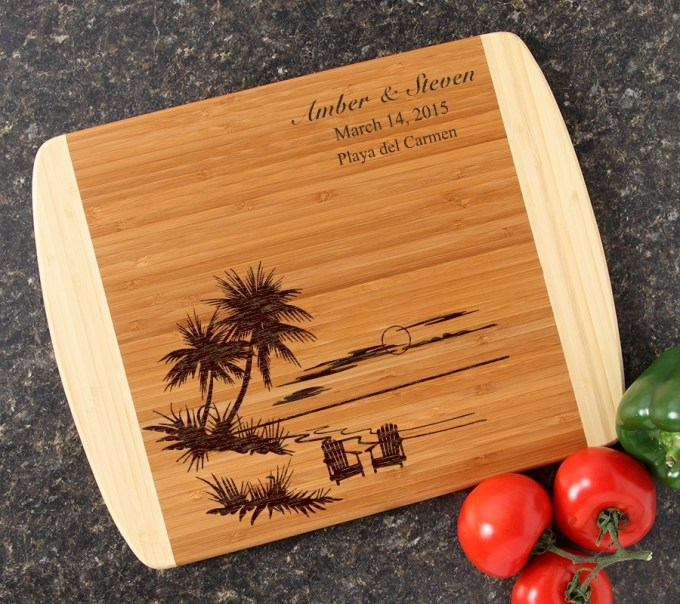Personalized Cutting Board Custom Engraved 14x11 DESIGN 33 CBC-033