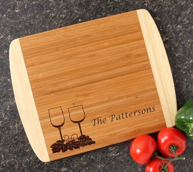 Personalized Cutting Board Custom Engraved 14x11 DESIGN 5 CBC-005