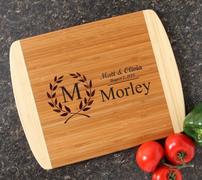 Personalized Cutting Board Custom Engraved 14x11 DESIGN 6 CBC-006