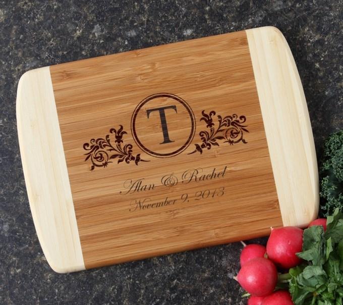 Personalized Cutting Board Custom Engraved 10 x 7 DESIGN 15 CBG-015