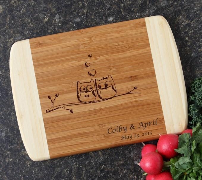 Personalized Cutting Board Custom Engraved 10 x 7 DESIGN 29 CBG-029