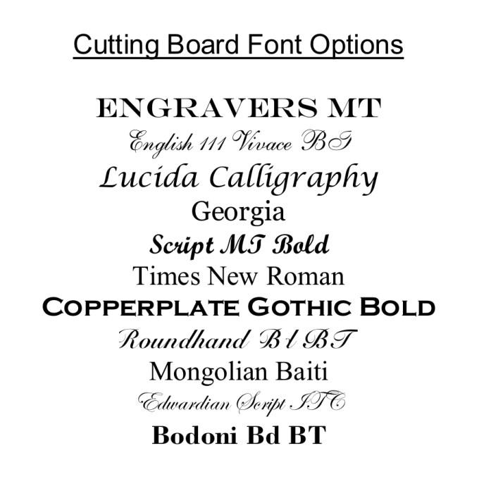 Personalized Slate Cheese Board Custom Engraved Slate Cheese Board 19 x 9 Font Options